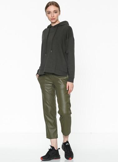 Vero Moda Kapüşonlu Sweatshirt Haki